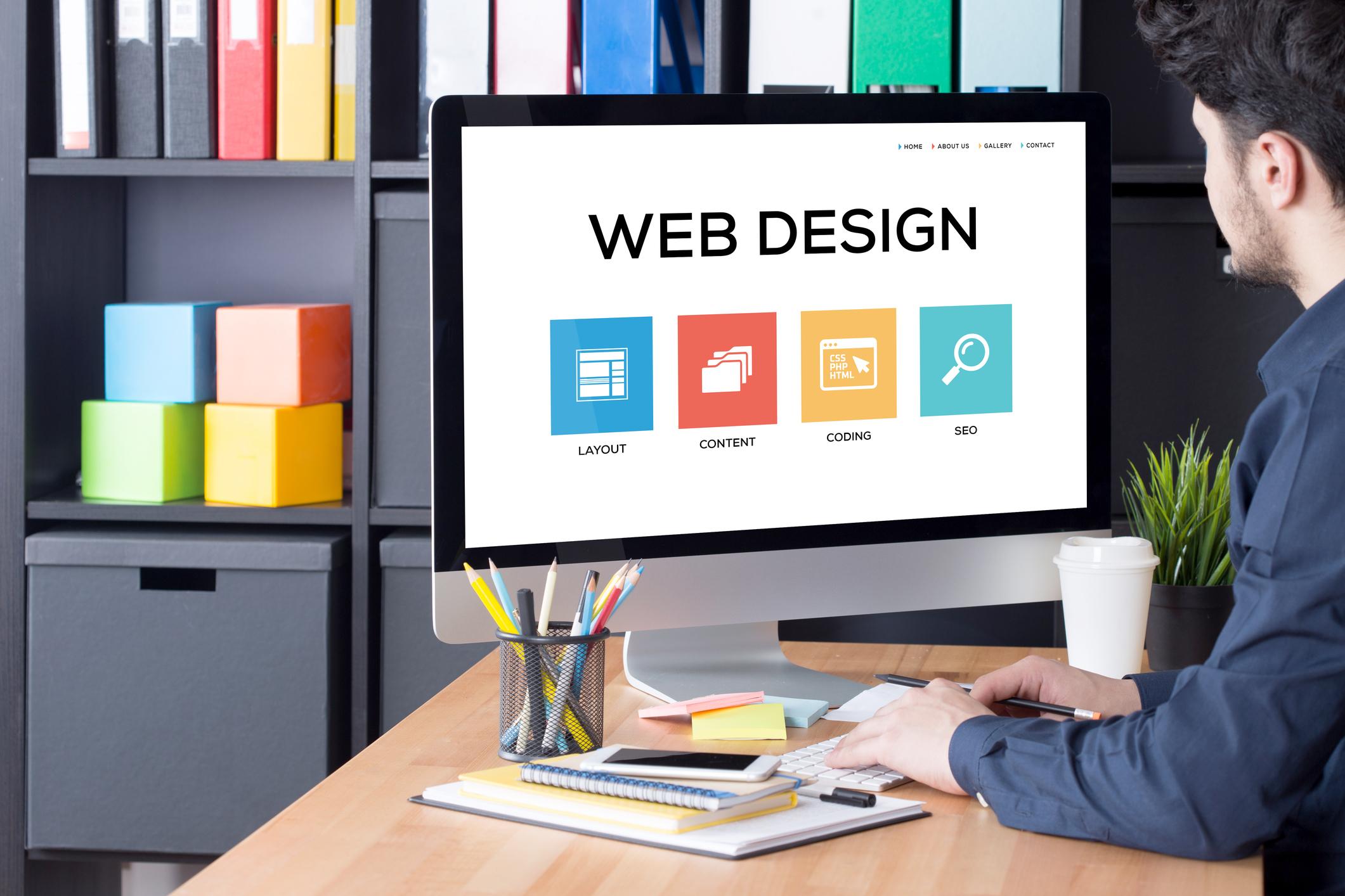 Tätigkeitsfelder im Webdesign Image
